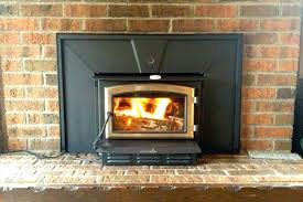 fireplace insert installation instructions wood insert gas fireplace with er fan vented installation cost fireplace log