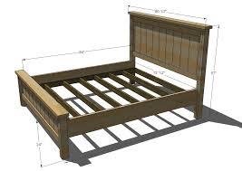 $80 DIY king size platform bed frame My DIY projects