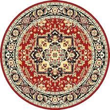 persian round rug
