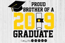 Proud Brother Of A Graduate Graduation Graphic By Hd Art Workshop Creative Fabrica