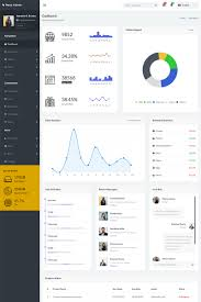 55 Admin Templates Bootstrap Dashboard Themes Template Monster