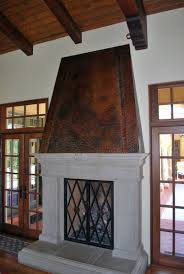 by design fireplace hood unique ideas hoods hammered copper the fireplace gallery