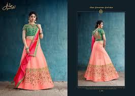 Designer Lehenga Catalogue Jiyara Fashion Jiyara L 41 Series Fancy Designer Lehenga