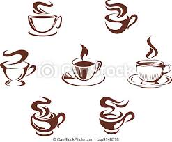This vector illustration includes two variations of the icon one in black on a light background on the left and another version in white on a dark background positioned on the right. Coffee Mug White Clipart Vector Graphics 29 117 Coffee Mug White Eps Clip Art Vector And Stock Illustrations Available To Search From Thousands Of Royalty Free Illustrators
