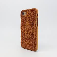 Wood case for iPhone 7 / iPhone 7 Plus Maori Koru - Wood Case Australia