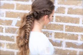 Viking Hairstyle Female the viking braid ponytail hairstyles for sports cute girls 2777 by wearticles.com