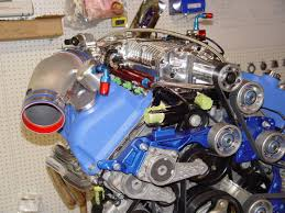 supercharger system for the ford 03 04 cobra engine the supercharger assembly
