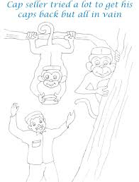 Small Picture Monkey Coloring Page Best Of Caps For Sale glumme