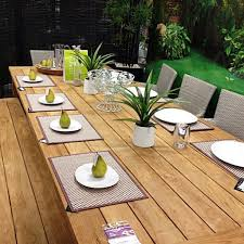 grade a teak outdoor dining table