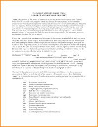 example short form property power of attorney form gallery standard form examples