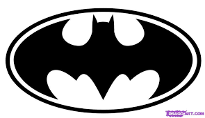 batman symbol template clipart library