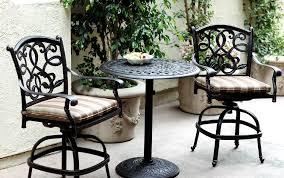 round pedestal table 3pc pub santa monica