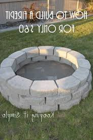 photo 2 of 8 diy simple brick round firepit this diy firepit is the easiest of