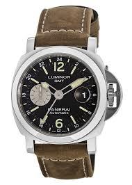 panerai pam01088 luminor gmt men s watch watchmaxx com panerai luminor gmt automatic 44mm black dial men s watch pam01088