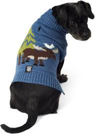 Petrageous Designs Dog Sweater Petrageous Designs Acadia Moose Turtleneck Dog Sweater