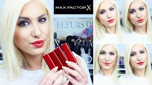 marilyn monroe lipstick collection by max factor swatches review stefy puglisevich you