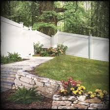 vinyl fence ideas. White Vinyl Fence Designs Styles Patterns Tops Materials And Ideas Hd G