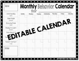 26 Paradigmatic Clip Chart Behavior Calendar
