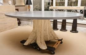 Interior Design. Marvelous Tree Trunk Tables ...
