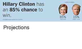 CHANCE OF WINNING Hillary Clinton Has An 40% Chance To Win 40% 40 Gorgeous Hillary Ruck Marriage