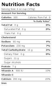 key lime pie label