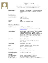 No Job Experience Resume Job Experience On Resume Resume For Study 73