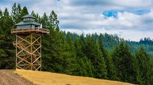 Lookout Tower Plans Treehouse Without The Tree Life In A Fire Lookout Home Youtube