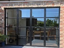 york steel replacement aluminium french doors by marlin windows