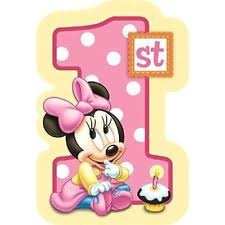 baby mickey mouse invitations birthday minnie mouse greeting cards and invitations ebay