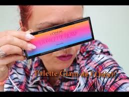 La palette <b>Glam</b> de L'Oréal. - YouTube