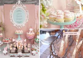 vintage shabby chic inspired office. Kara\u0027s Party Ideas Shabby Chic Girl Spring Floral Bridal Shower  Planning Vintage Shabby Chic Inspired Office G