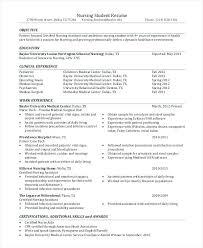 Nurse Objective Sample Resume Objectives Dew Drops