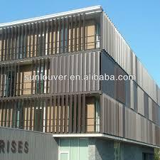 exterior louvers sun control. electric ventilation louvers /motorized louver/louver shutter automatic system aluminum louver devices exterior sun control