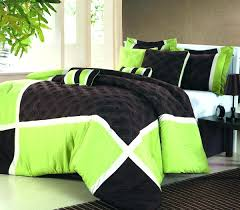 green bedding duvet and curtain sets twin