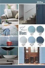 Light Blue Behr April Shower Blues Paint Colors For Home Room Paint
