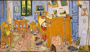 the bedroom van gogh painting. did you know this \ the bedroom van gogh painting v