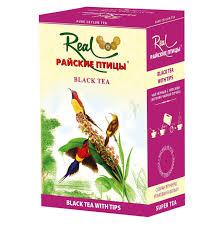 <b>Чай черный Real</b> Райские птицы листовой с типсами 250 г ...