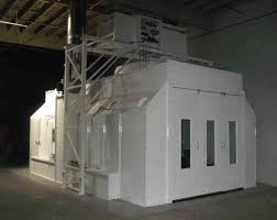 Downdraft Paint Booth Design Pdf Ez Side Downdraft Auto Paint Booth Col Met Efs