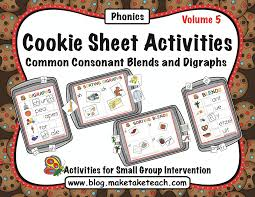 Free Ending Blends Chart Teaching Blends And Digraphs Make Take Teach