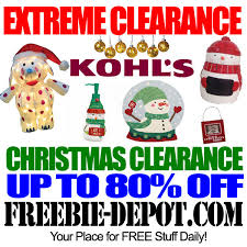 EXTREME CLEARANCE – 80% OFF or More at Kohl's After Christmas ...