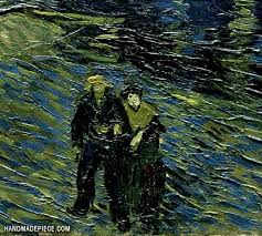 picture of starry night over the rhone vincent van gogh