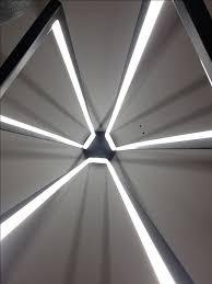 cascade de miré suspension re led adapté aux grands espaces de 2 60 m à