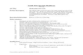 File Clerk Sample Resume Best Of Medical Records Clerk Resume File Clerk Resume Sample Medical