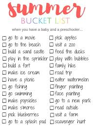 best summer bucket lists ideas summer dates summer bucket list things to do when you have a baby and preschooler