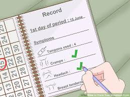 3 Ways To Track Your Menstrual Cycle Wikihow
