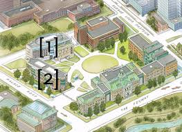 simmons college campus map. directions simmons college campus map