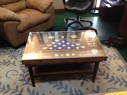 shadowbox coffee table