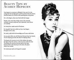 Audrey Hepburn Quotes On Beauty Best of Audrey Hepburn Quotes About Beauty