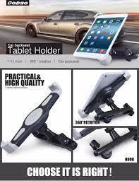 Giá đỡ ipad kẹp máy tính bảng trên ô tô