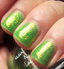 GLITTER DUST BLING SPARKLY BRIGHT GREEN NAIL ART 4 GEL/NATURAL ...